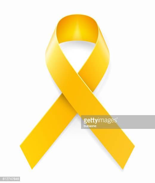 60点の黄色いリボンのイラスト素材クリップアート素材マンガ素材