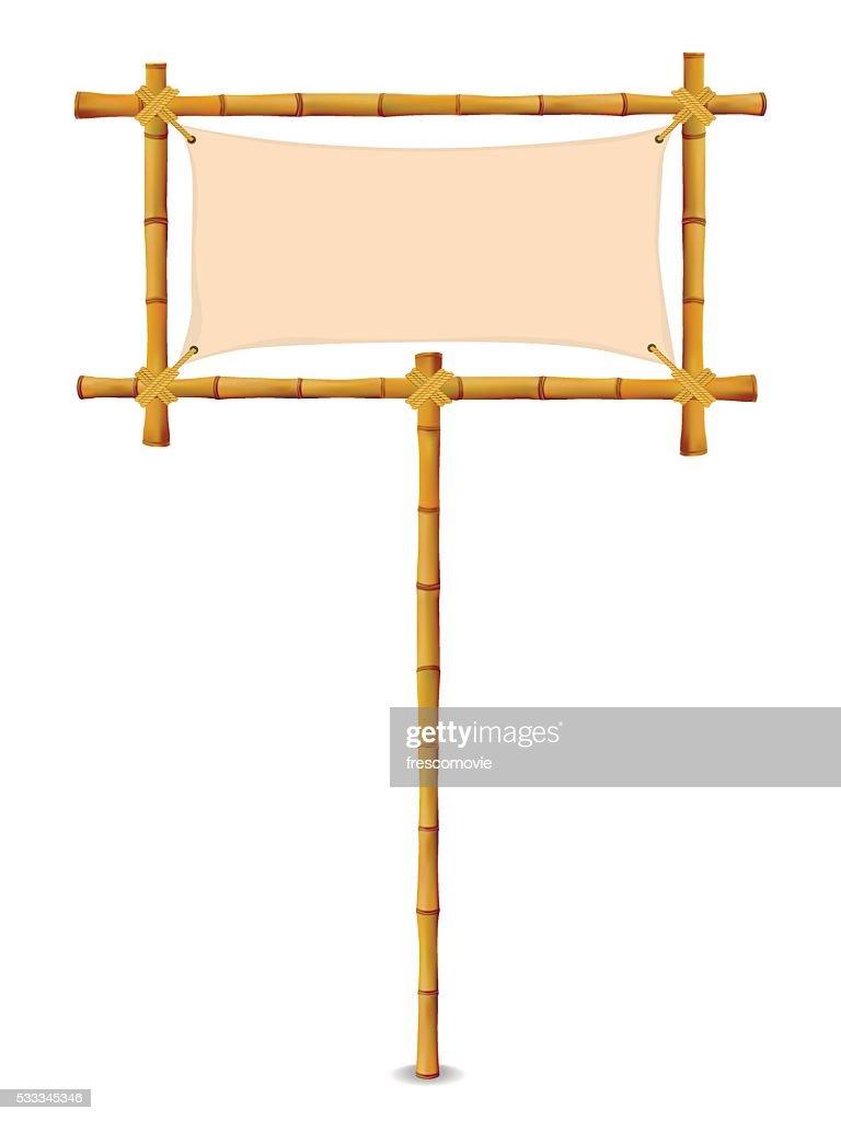 Yellow Bamboo Frame
