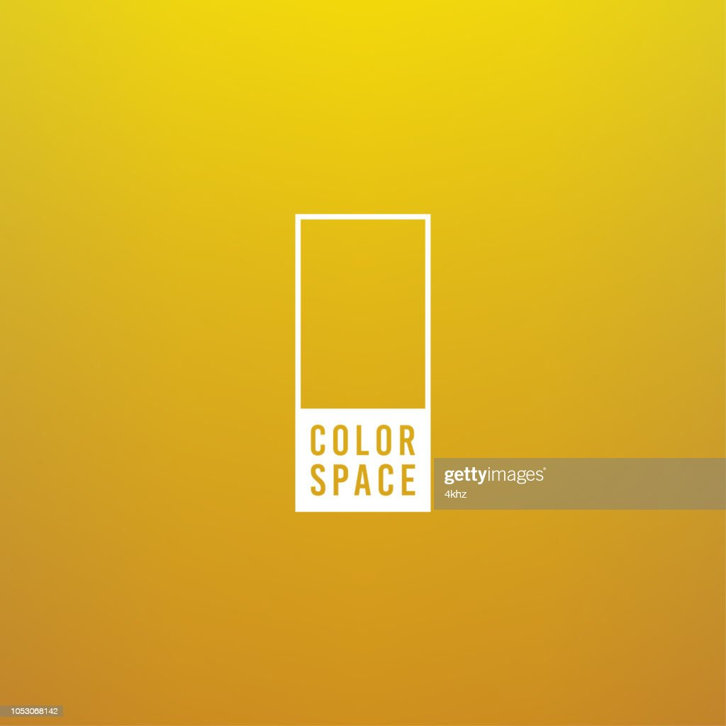 Yellow Basic Elegant Soft Color Space Smooth Gradient Vector Background