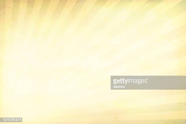 Yellow bright grunge Sunburst textured vector Christmas background- horizontal