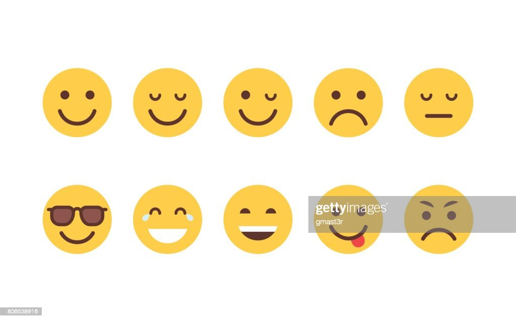 yellow cartoon face set emoji people different emotion icon collection high res vector graphic getty images https www gettyimages com detail illustration yellow cartoon face set emoji people royalty free illustration 806538916