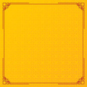 yellow circle pattern chinese abstract background