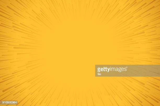 yellow explosion background - excitement stock illustrations