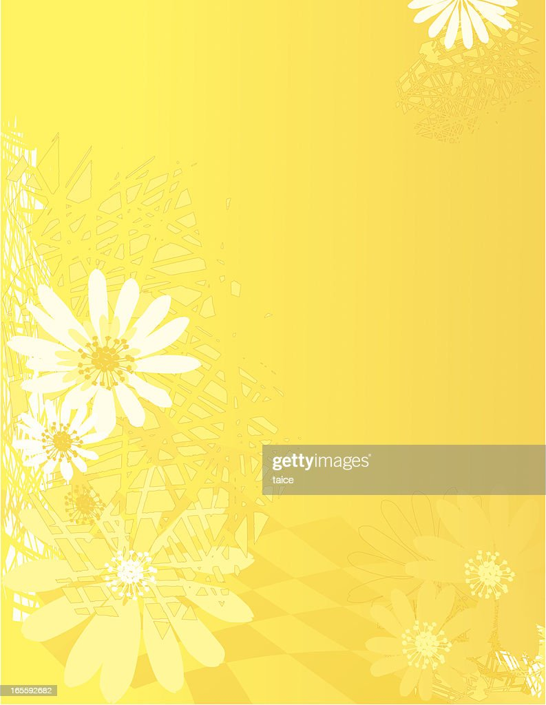 Yellow Floral Background High Res Vector Graphic Getty Images