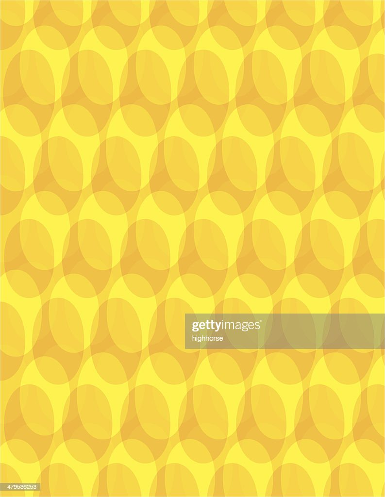 Yellow Grating Background