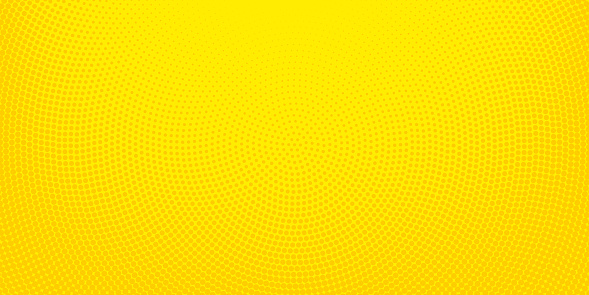Yellow halftone spotted background - gettyimageskorea