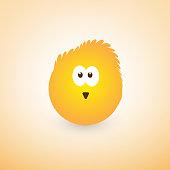 Yellow Hatchling Emoji