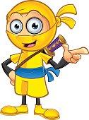 Yellow Ninja - Pointing