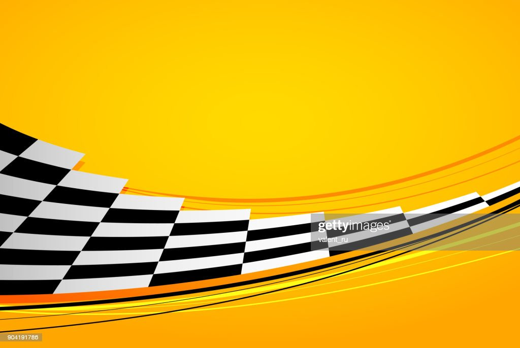 Yellow racing background