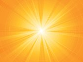yellow rays radial sun background