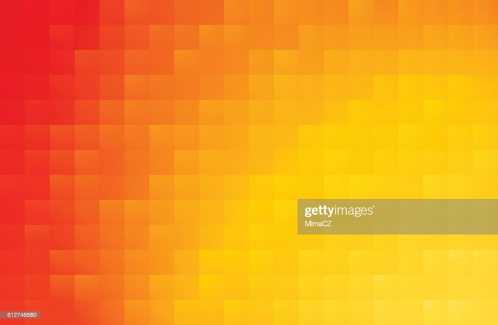 yellow red abstract background