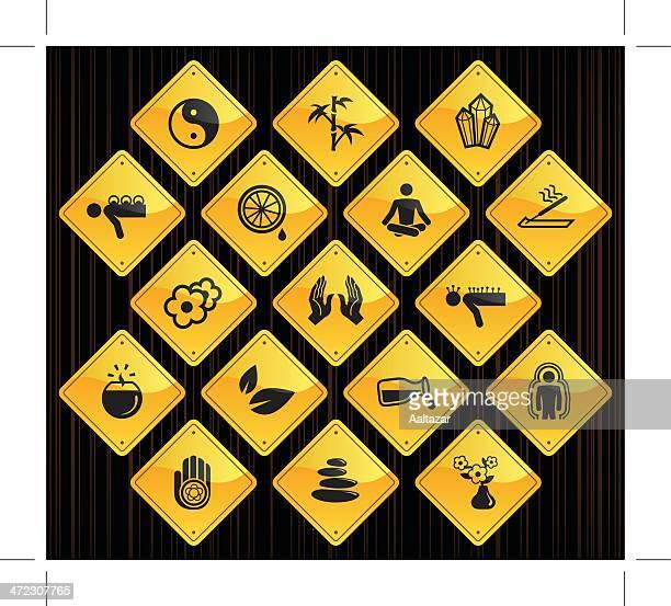 Yellow Road Signs - Alternative Medicine