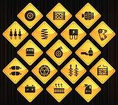 Yellow Road Signs - Car Maintenance