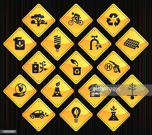 Yellow Road Signs - Eco Friendly