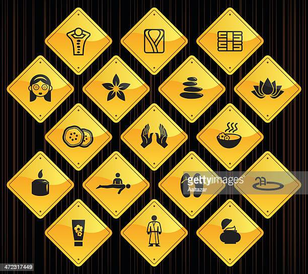 Yellow Road Signs - Spa & Wellness