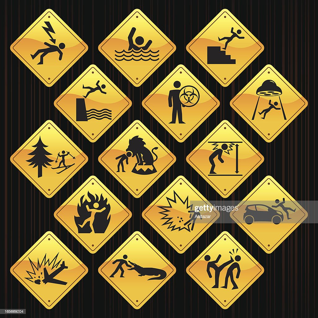 Yellow Signs - Accidents