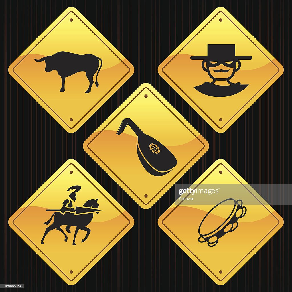 Yellow Signs - Spain