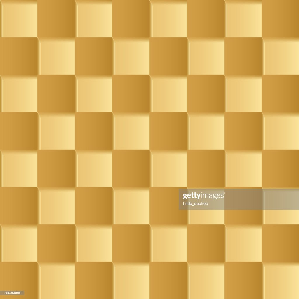 yellow square abstract  background : Vector Art