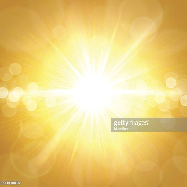 Gelbe Sommer Hintergrund