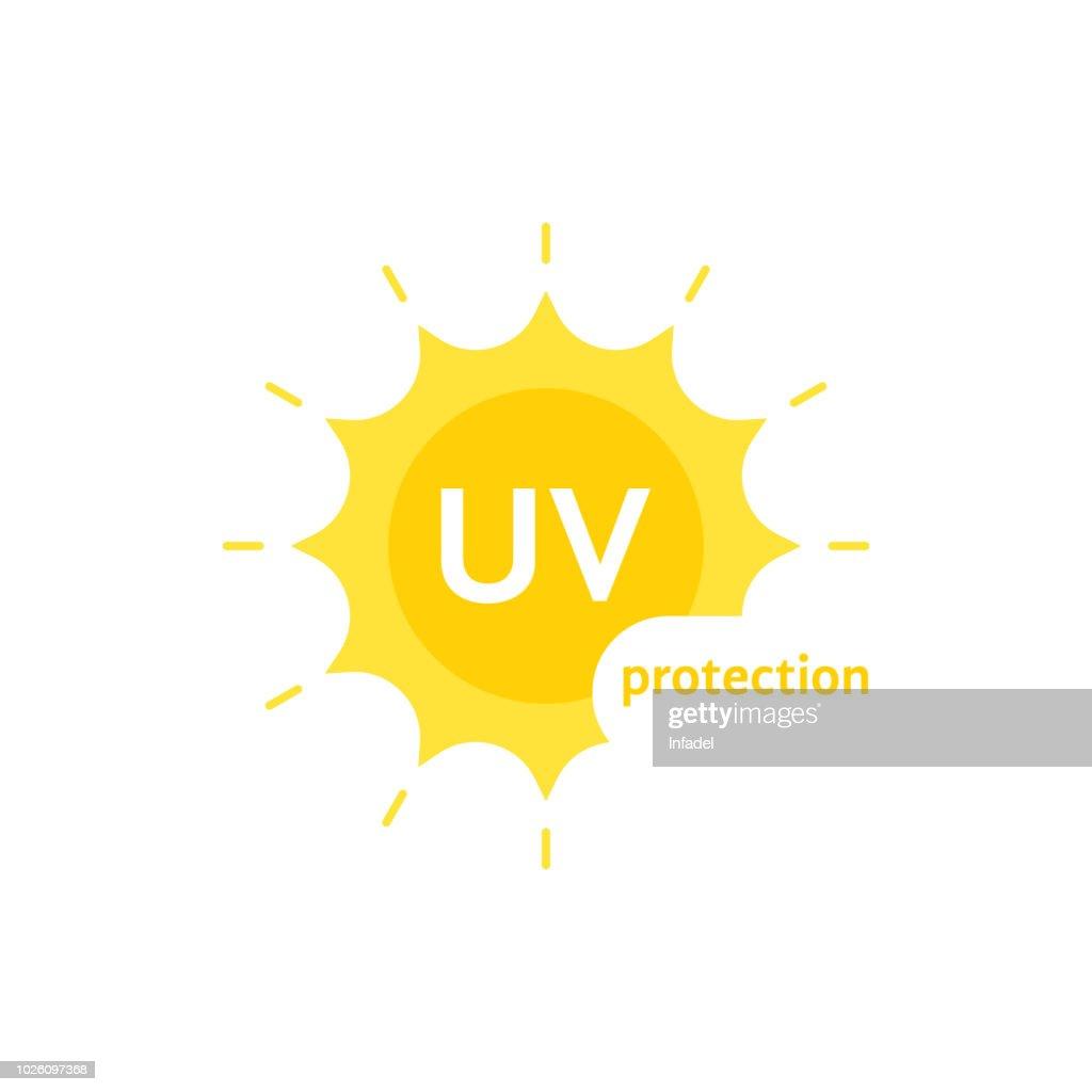 yellow uv protection on white