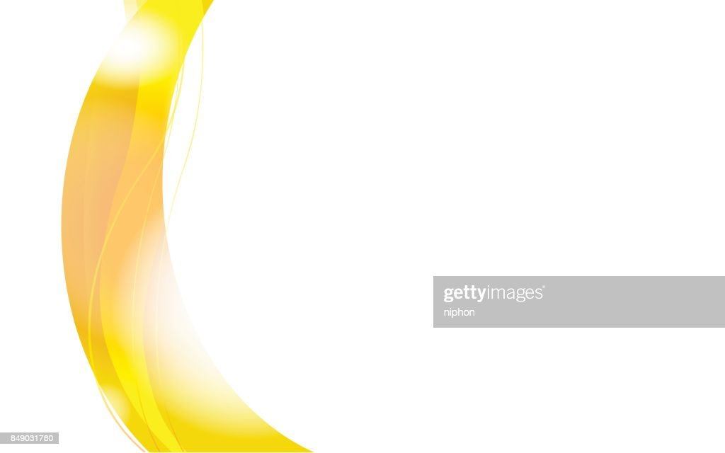 yellow wave vector design Background
