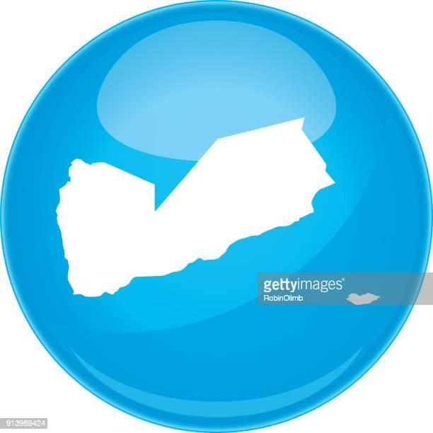 yemen sphere map - yemen stock illustrations, clip art, cartoons, & icons