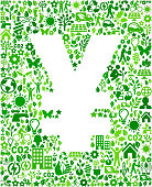 Yen Sign Environmental Conservation and Nature interface icon Pattern