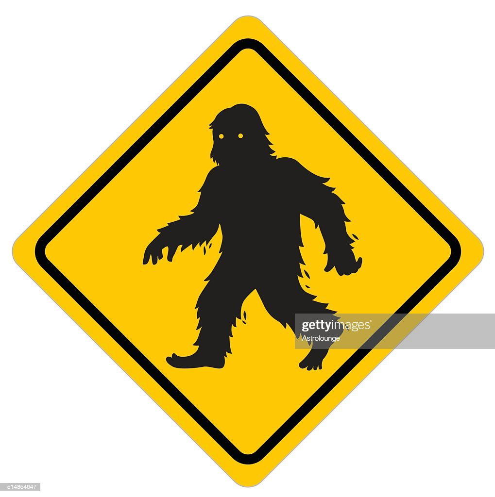 Yeti Sign Vector Art | Getty Images