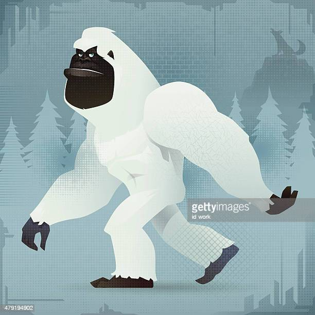 30 Top Yeti Stock Illustrations, Clip art, Cartoons and