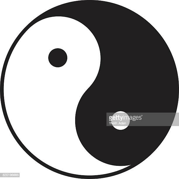 Yin Yang Symbol Stock Illustrations And Cartoons Getty Images