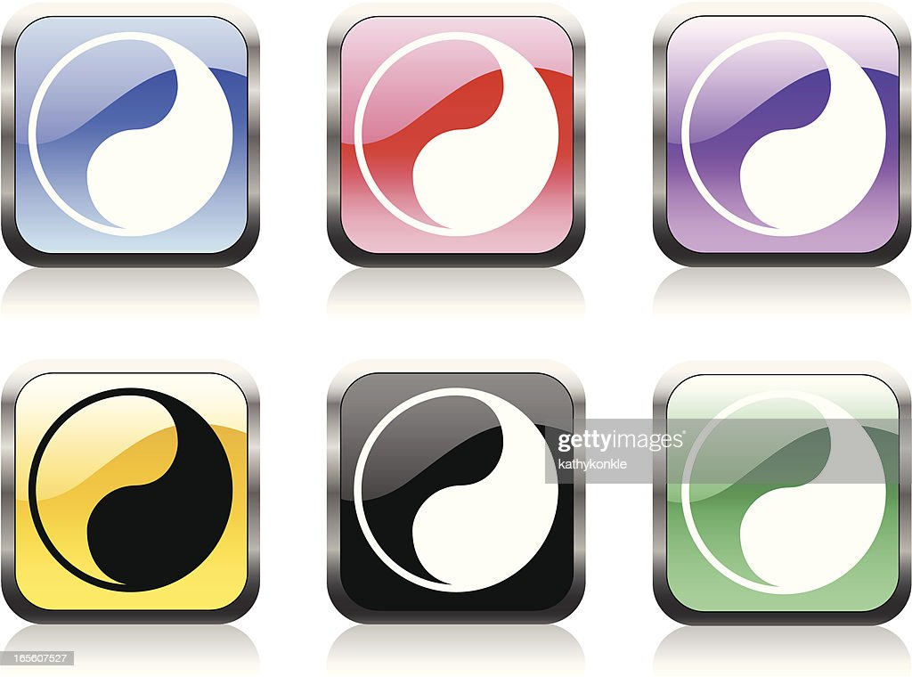 Yin Yang Symbol Vector Art Getty Images