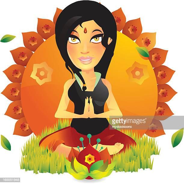 Yoga Fitness Girl