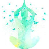 Yoga Watercolor