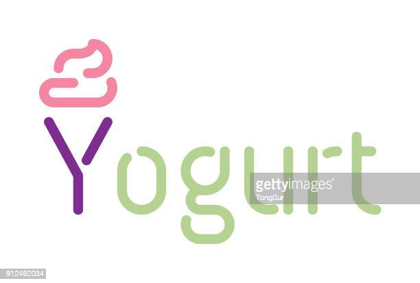 Yogurt - Typography