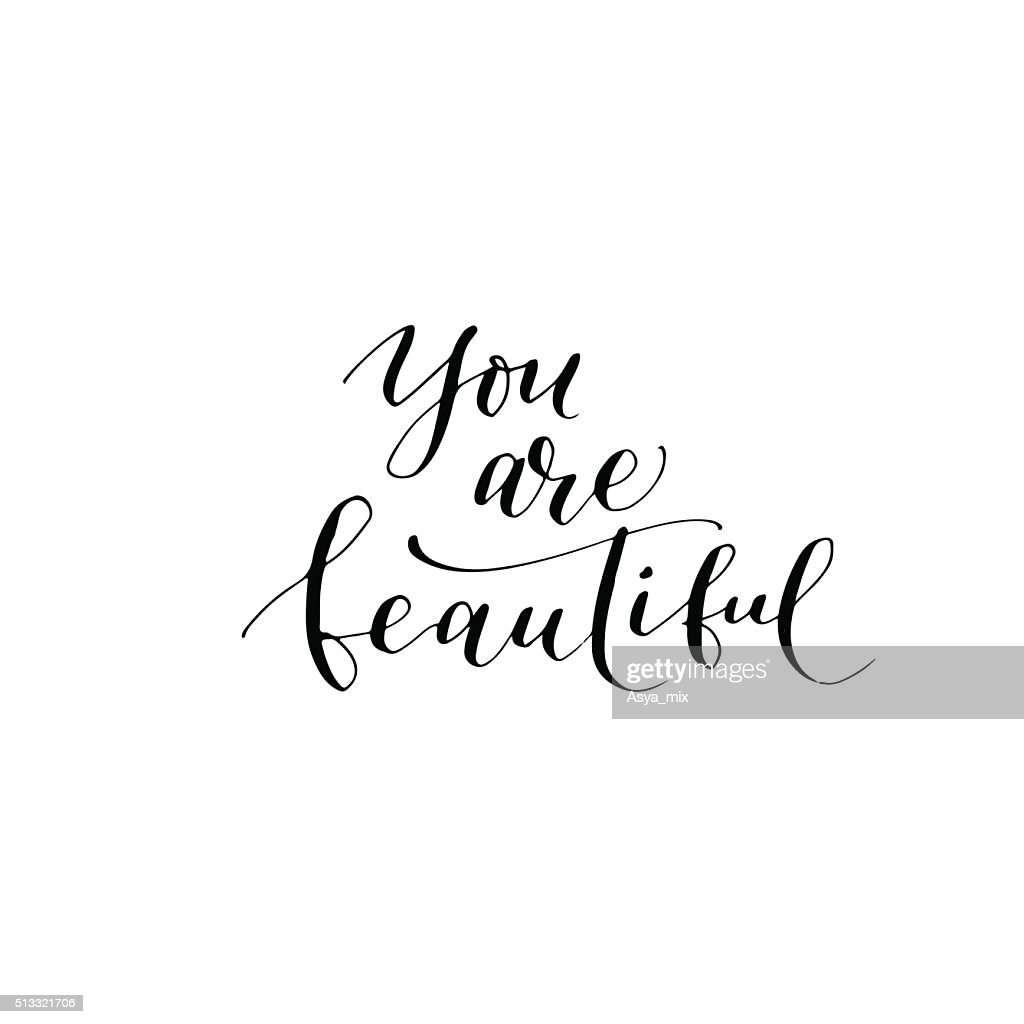 You are beautiful card.