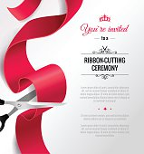 You are invited to a ribbon-cutting ceremony