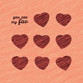 'You are my Fav' Happy Valentine's Day Sweet Card.