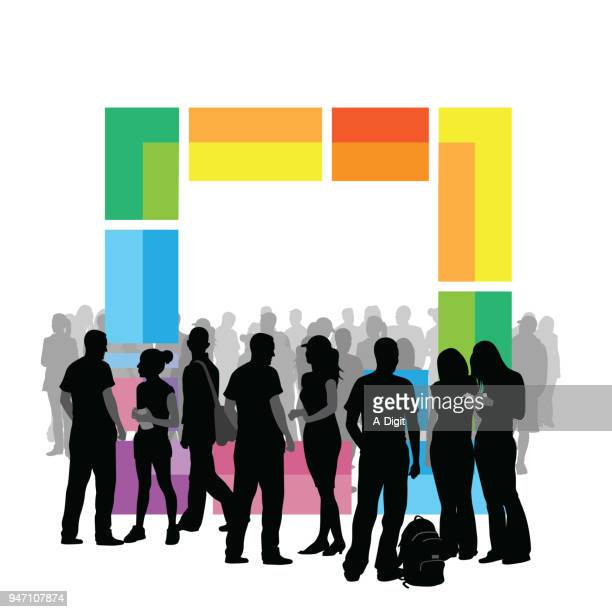young adults social - young adult stock illustrations, clip art, cartoons, & icons