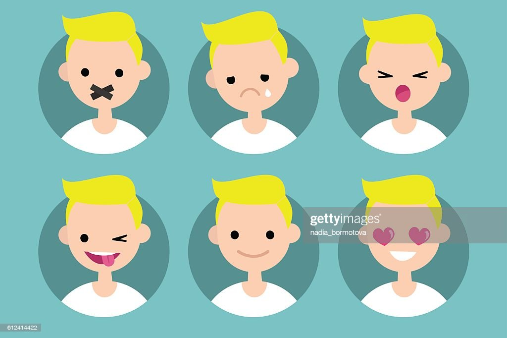 Young blond boy profile pics