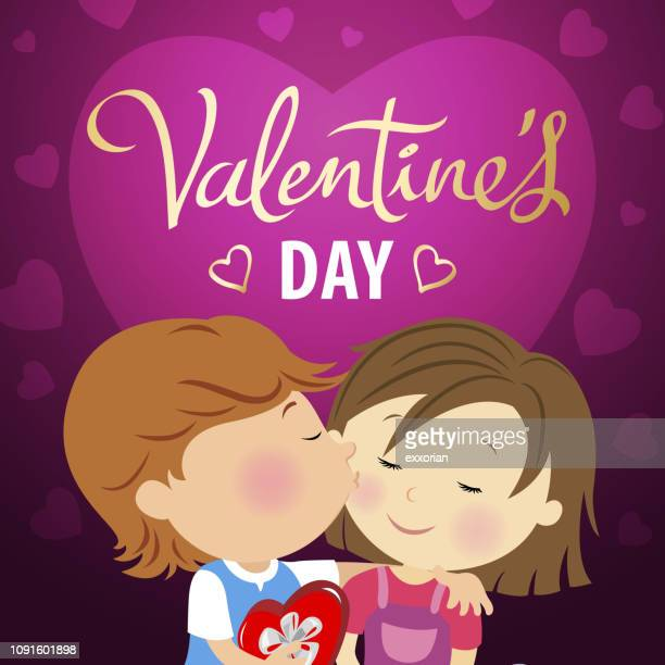 Young Couple Love Valentine's Day