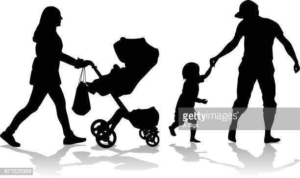 Young Parents Stroller