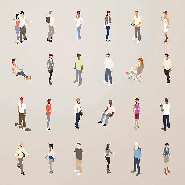 young people - flat icons illustration - skateboarding stock illustrations