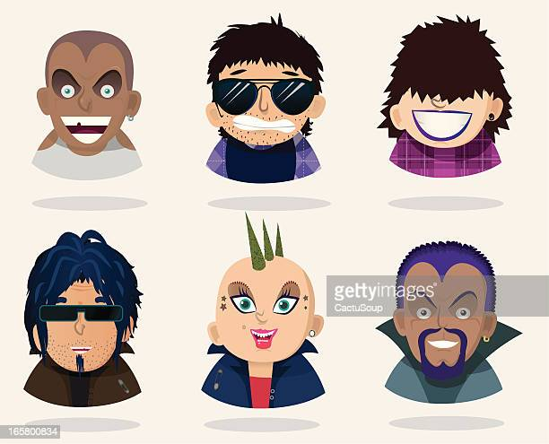 young people - anthropomorphic stock illustrations, clip art, cartoons, & icons