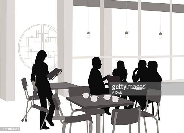 Young Students Coffeeshop