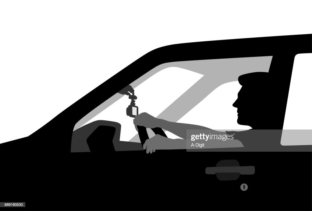 YoungDriver : stock illustration