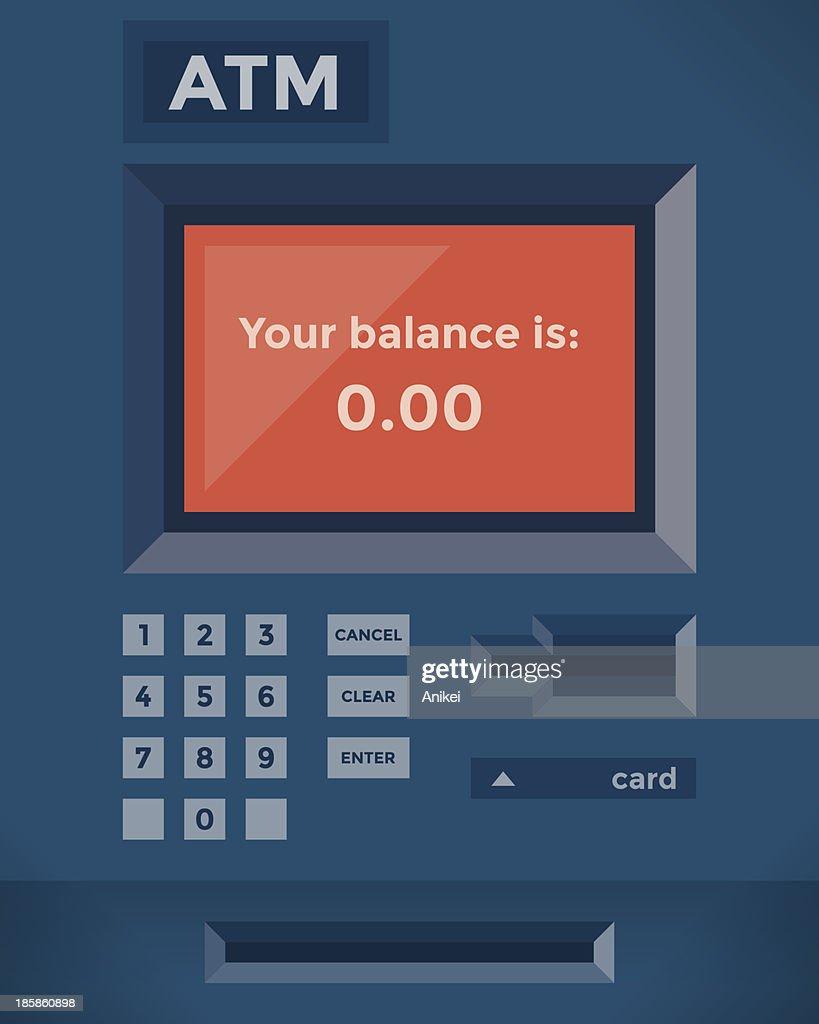 Your balance is zero!