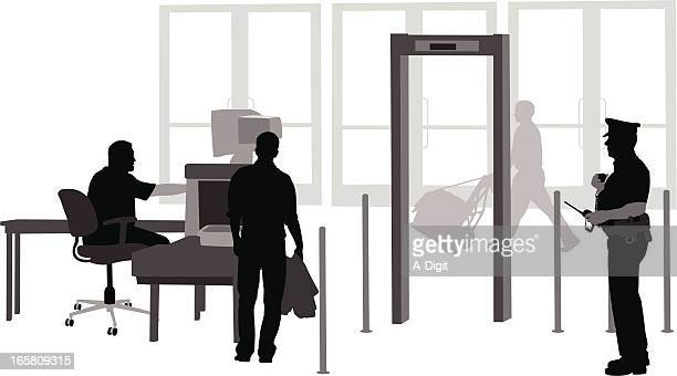Your Security Vector Silhouette