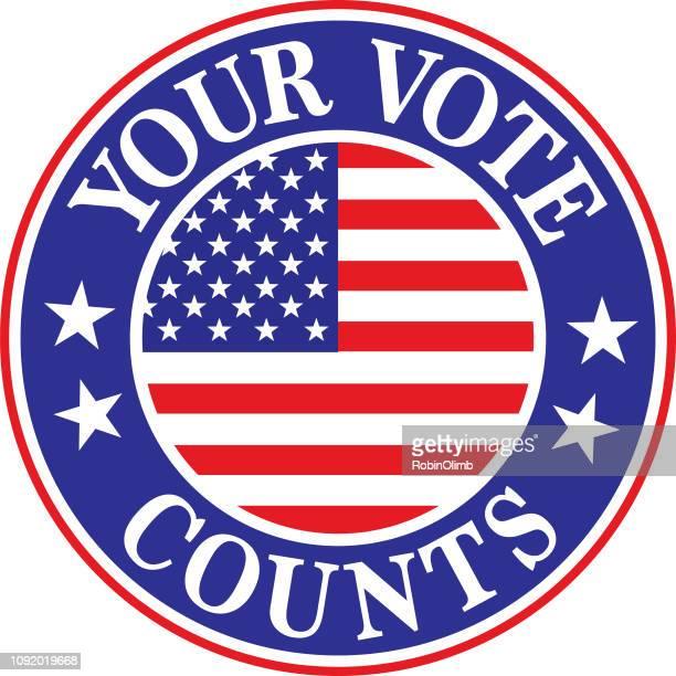 Your Vote Counts Label