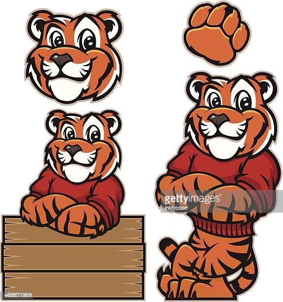 Youthful tiger
