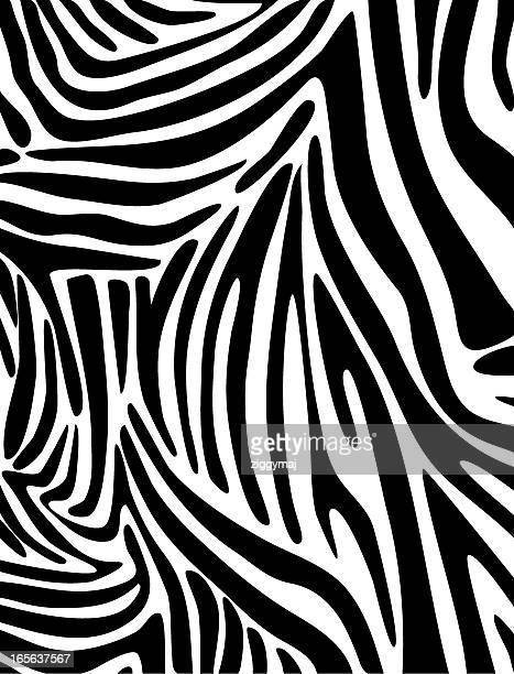 ゼブラ肌の模様 - アニマルプリント点のイラスト素材/クリップアート素材/マンガ素材/アイコン素材